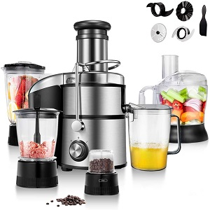COSTWAY Electric 5-in-1 Professional Food Processor